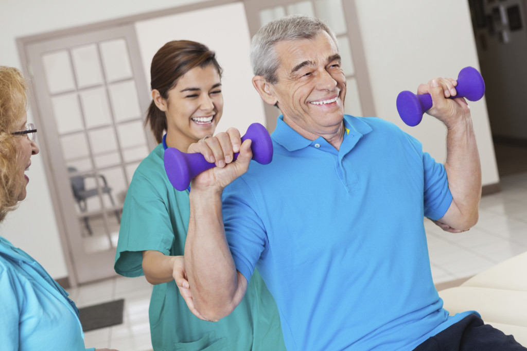 Rehabilitation and Therapy Services at Deerbrook Skilled Nursing & Rehab.
